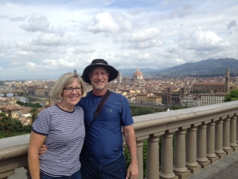 From Piazza Michaelangelo overlooking Florence